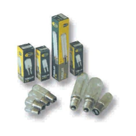 LAMPARA INCANDESC. TUBULAR CLARA E14 40W 20X100 3000K CLAR