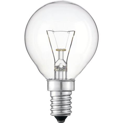 Lámpara incandescente esférica E14 40W 220V