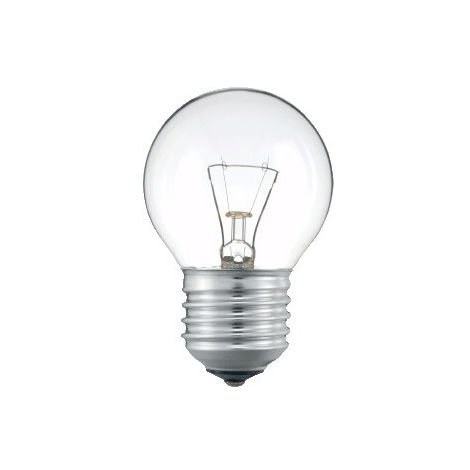 Lámpara incandescente esférica especiales E27 60W 24V
