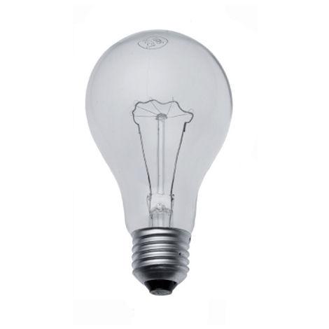 Lámpara incandescente standard reforzada E27 150W 80X150mm.