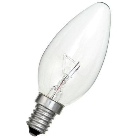 Lámpara incandescente vela clara 40W E14 (ALG 13742)