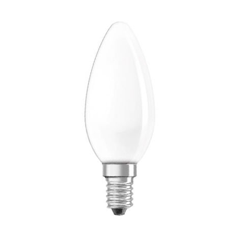 Lámpara incandescente vela mate 40W E14 (Clar 11213)