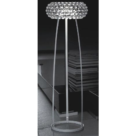 Lámpara ITALIA, pie salón, diseño, acrilica