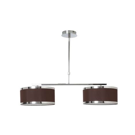 Lámpara Lanzarote marrón regulable D85