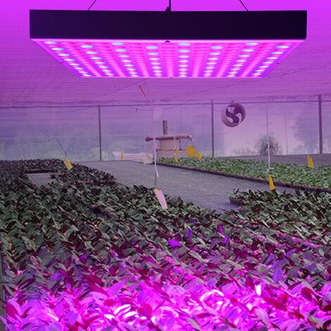 Lámpara LED 45W cultivación de plantas interior para plantas de interior, flores, invernadero