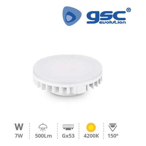 Lámpara LED 7W GX53 2500lm 4200K 230V