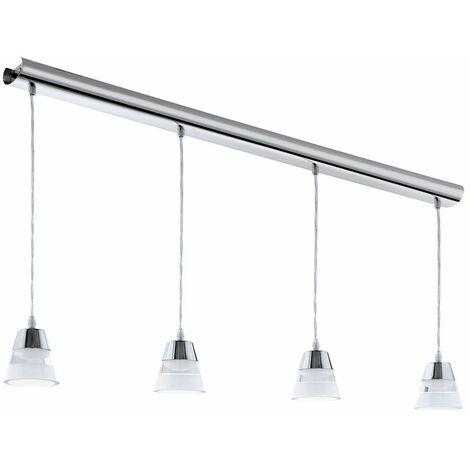 Lámpara LED colgante de lujo Sleep Room Lámpara colgante de techo Chrome Spotlight Eglo 94356