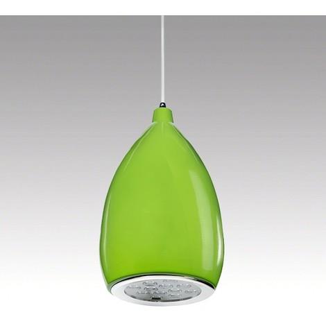 Lámpara LED Colgante Pera Verde 12W 1100Lm 30.000H Summer [HO-SUSP12W-A-G-WW]   Blanco Cálido (HO-SUSP12W-A-G-WW)
