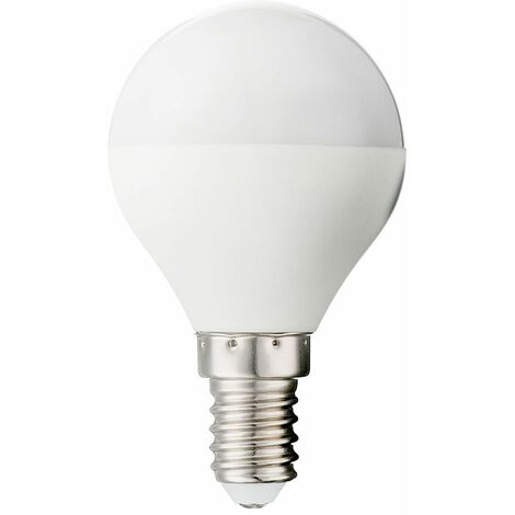 Lámpara LED de 5 vatios regulable Lámpara de 350 lúmenes Base E14 3000 Kelvin Globo 10671D