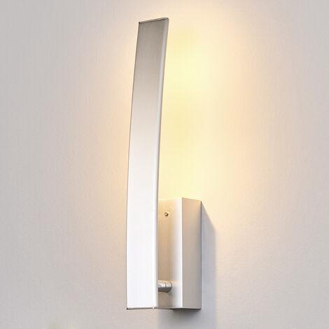 Lámpara LED de pared Xalu con interruptor