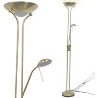lámpara LED de pie regulable 23 W