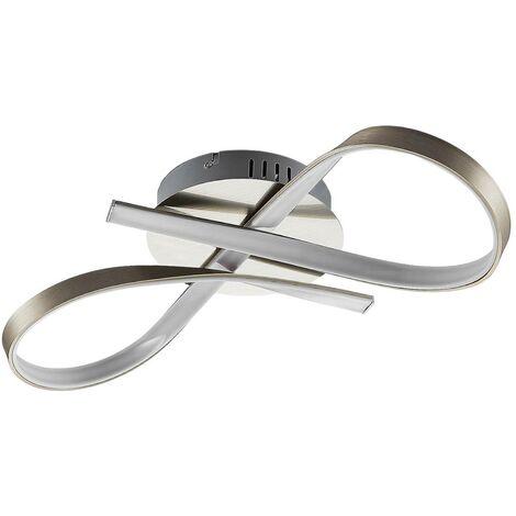 """main image of """"Lámpara LED de techo Alana con forma de lazo"""""""