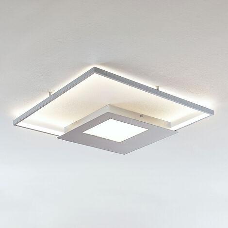 Lámpara LED de techo Anays, angular, 62 cm