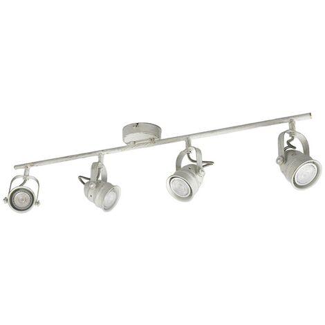 Lámpara LED blancaGU10 de Leonor techo 354LSjARcq