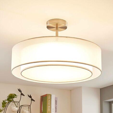Lámpara LED de techo Pikka, atenuable en 3, blanco