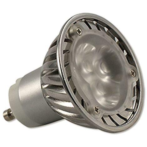 LAMPARA LED DICROICA GU10 PLANA .5W.3000K CALIDA