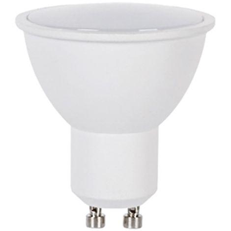 LAMPARA LED DICROICA GU10 PLANA .8W 3000K.CALIDA