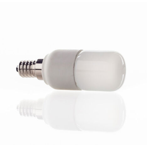Lámpara LED E14 4W con forma tubular