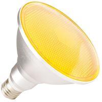 Lámpara LED E27 PAR38 15W Waterproof IP65 Luz Amarilla Naranja