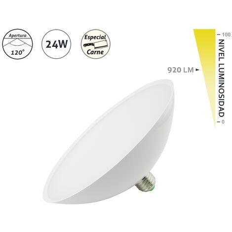 Lámpara LED especial para carnes E27 24W