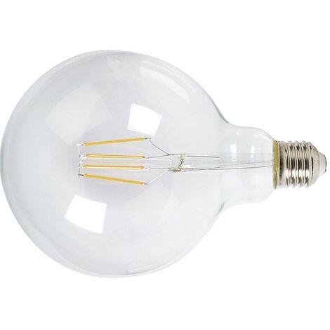 LAMPARA LED FILAMENTO GLOBO G125 6W 6400K TRAN