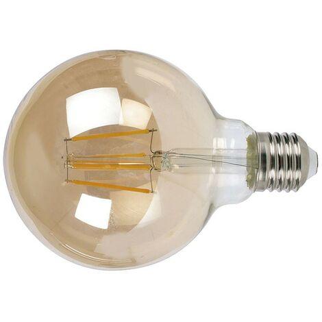 LAMPARA LED FILAMENTO GLOBO G95 6W 2500K VINTA