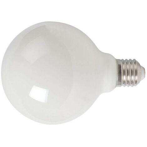 LAMPARA LED FILAMENTO GLOBO G95 6W 2700K OPACO