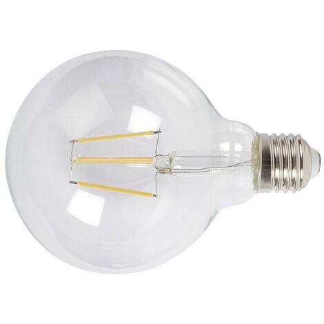 LAMPARA LED FILAMENTO GLOBO G95 6W 2700K TRANS
