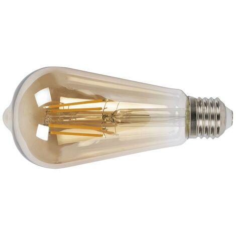 LAMPARA LED FILAMENTO ST64 E27 6W 2500K VINTAG