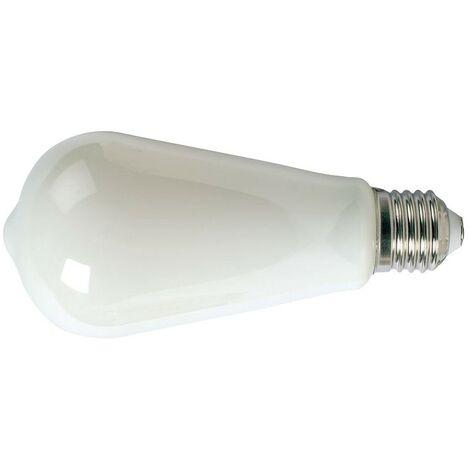 LAMPARA LED FILAMENTO ST64 E27 6W 2700K OPACO