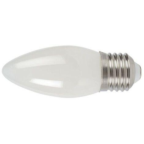 LAMPARA LED FILAMENTO VELA E27 4W 2700K OPACO