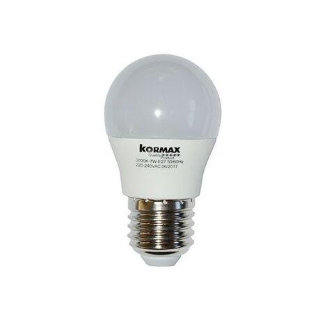 Lampara led g45-5w-e27 esferica luz fria 6000