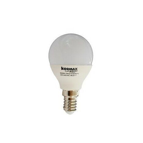Lampara led g45-7w-e14 esferica luz fria 6000