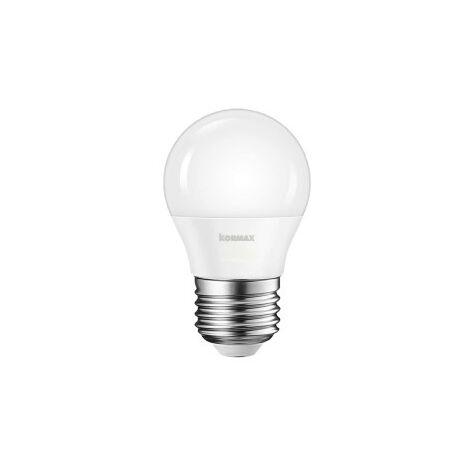 Lampara led g45-7w-e27 esferica luz calida 3000