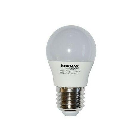Lampara led g45-7w-e27 esferica luz fria 6000