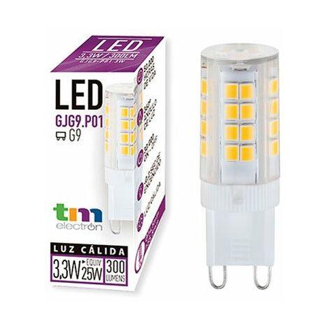 LAMPARA LED GJG9 P01 220V 3.3W 3.000K