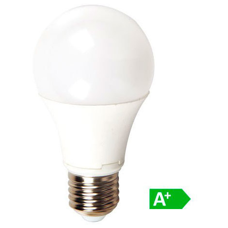Lámpara led globo A60 E27 14W 130°