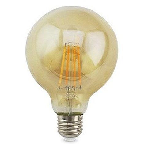 Lámpara Led globo decorativa caramelo E27 7W 125x175mm. (GSC 2004850)