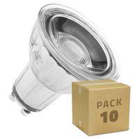 Lámpara LED GU10 COB Cristal 45º 7W