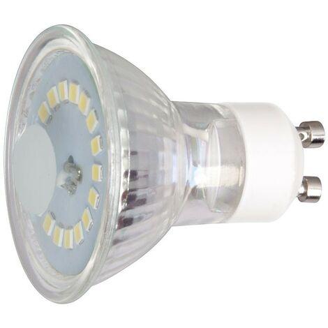 LAMPARA LED GU10 CRISTAL 5W 6400K 120º
