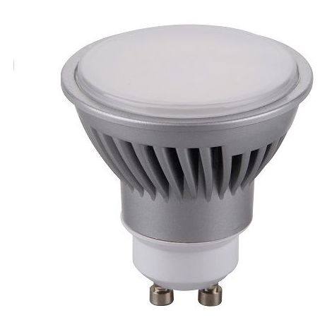 Lampara LED GU10 Dicroica Luz Calida 7W