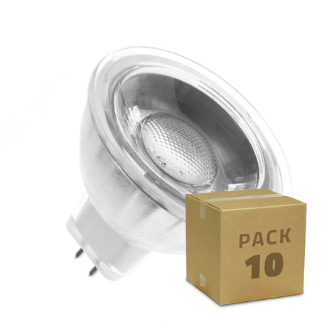 Lámpara LED GU5.3 MR16 COB Cristal 220V 45º 5W