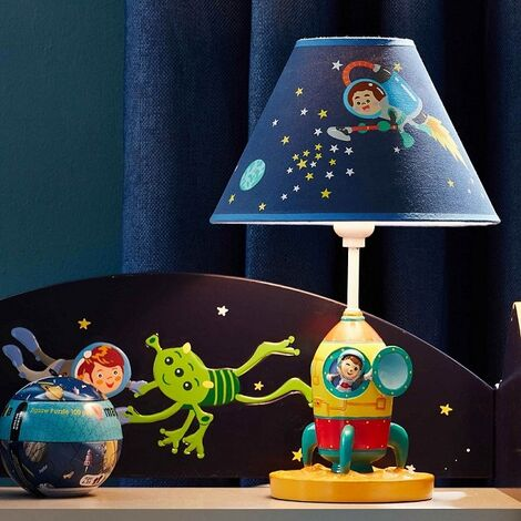 Lámpara LED infantil para mesita de noche Outer Space Fantasy Fields TD-12335AE