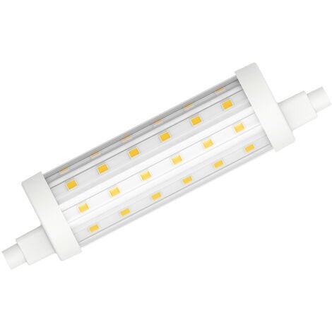 Lámpara Led Lineal R7S 11,5W 2700°K 118mm. (Duralamp L2972W)
