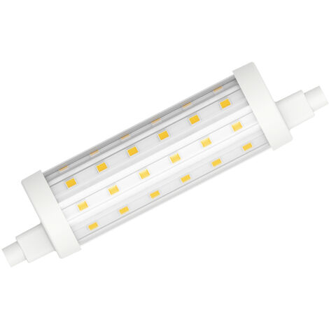Lámpara Led Lineal R7S 11,5W 2700°K 1521Lm 118mm. (Duralamp L2972W)