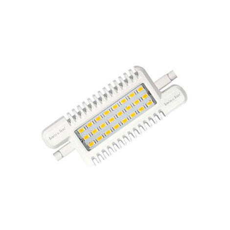 Lámpara Led Lineal R7s 9W 3000°K 826Lm 48x118mm. (B&F 141L1231L)