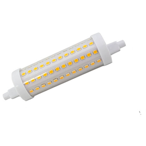 Lámpara Led lineal R7s regulable 12W 3000°K 1700Lm 118mm. (GSC 200650018)