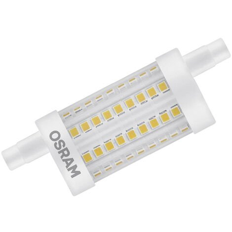 Lámpara Led Lineal regulable R7S 15W 2700°K 118x29mm. (Osram 4058075811737) (Blíster)