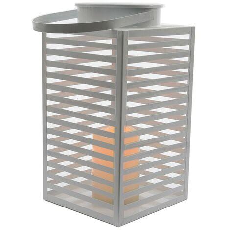 LAMPARA LED METALICA PARA EXTERIOR