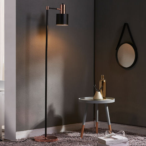 Lámpara LED monopie estándar Versanora negra VN-L00039-EU